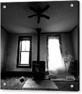 Abandoned Fireplace Acrylic Print by Cale Best