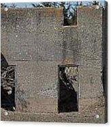 Abandoned Foundation 1 Acrylic Print
