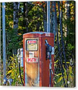Abandoned Gas Pump Acrylic Print