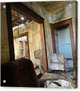 Abandoned Homestead Series Decay Acrylic Print