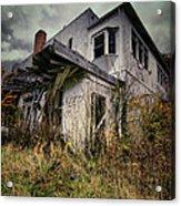Abandoned Hotel Hdr Acrylic Print