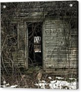 Abandoned House - Enter House On The Hill Acrylic Print