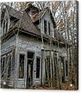 Abandoned House In New Hampshire Acrylic Print