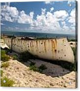 Abandoned In Grand Turk Acrylic Print
