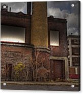 Abandoned In Hdr 2 Acrylic Print