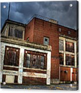 Abandoned In Hdr Acrylic Print