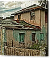 Abandoned In The City Acrylic Print by Kathy Jennings