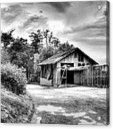 Abandoned La Zoo Dr's  Barn House Acrylic Print