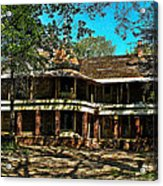 Abandoned Mansion Acrylic Print