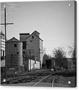 Abandoned Mill Acrylic Print