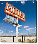 Abandoned Motel Acrylic Print