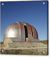 Abandoned Observatory Acrylic Print