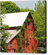 Abandoned Old Barn Acrylic Print