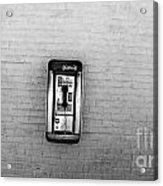 Abandoned Payphone. Nyc. Acrylic Print
