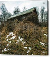 Abandoned Places - Old House - House On The Hill Acrylic Print
