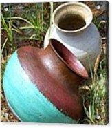 Abandoned Pots Acrylic Print