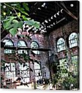 Abandoned Power House Acrylic Print