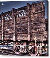 Abandoned Rio Grande Acrylic Print