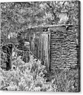 Abandoned Root Cellar - Alstown - Washington - May 2013 Acrylic Print