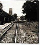 Abandoned Train Station Acrylic Print