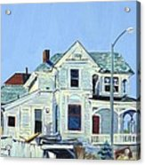 Abandoned Victorian In Oakland  Acrylic Print