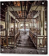 Abandoned Winery In The South Of France Acrylic Print