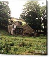 Abandoned Yorkshire House  Acrylic Print