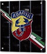 Abarth Emblem Acrylic Print