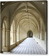 Abbaye De Frontevraud  Cross Coat Acrylic Print