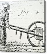 Abbe Soumille's Seed Drill Acrylic Print