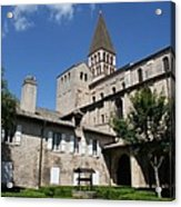 Abbey Church St. Philibert - Tournus Acrylic Print