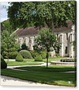 Abbey Fontenay Burgundy Acrylic Print