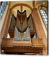 Abbey Organ Acrylic Print