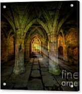 Abbey Sunlight Acrylic Print by Adrian Evans