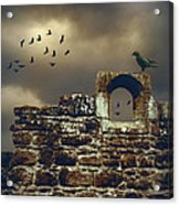 Abbey Wall Acrylic Print