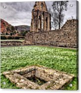 Abbey Well Acrylic Print