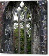 Abbey Window  Acrylic Print