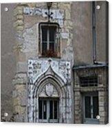 Abbot Palace Entrance Cluny Acrylic Print