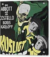 Abbott And Costello Meet The Killer Acrylic Print