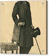 Abel Hermant (1862-1950) French Writer Acrylic Print