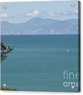 Abel Tasman Split Apple Bay New Zealand Acrylic Print