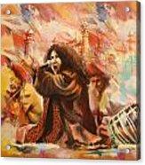 Abida Parveen Acrylic Print