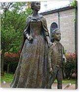 Abigail Adams Statue Acrylic Print