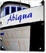 Abiqua Acrylic Print by Mamie Gunning