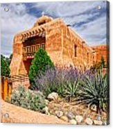Abiquiu Mission Church Acrylic Print