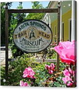 Abita Springs Trailhead Museum Acrylic Print