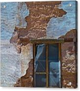 Abobe House Windows Acrylic Print