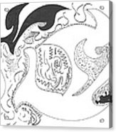 Aboriginal Acrylic Print