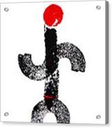 Aboriginal Figure Acrylic Print