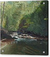 Above Bald River Falls Acrylic Print by William Killen